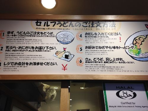 How to order of Udon