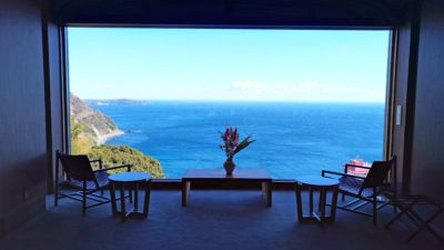 Great ocean view welcome you at the lobby