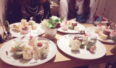 """Lolita unique culture, """"tea party"""""""