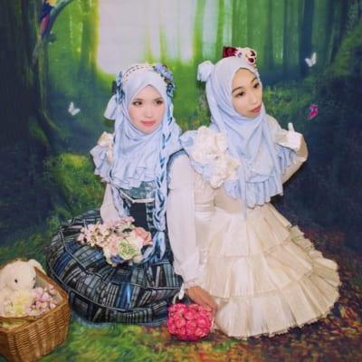 Muslim Lolita. Dresses by marcHenTic