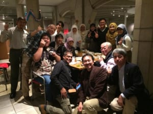 halal steak & sushi party
