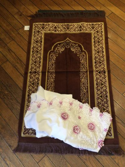 Prayer mat is available
