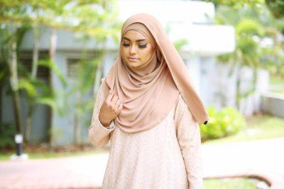 BubbleGumHijab of Hijab Styling Session