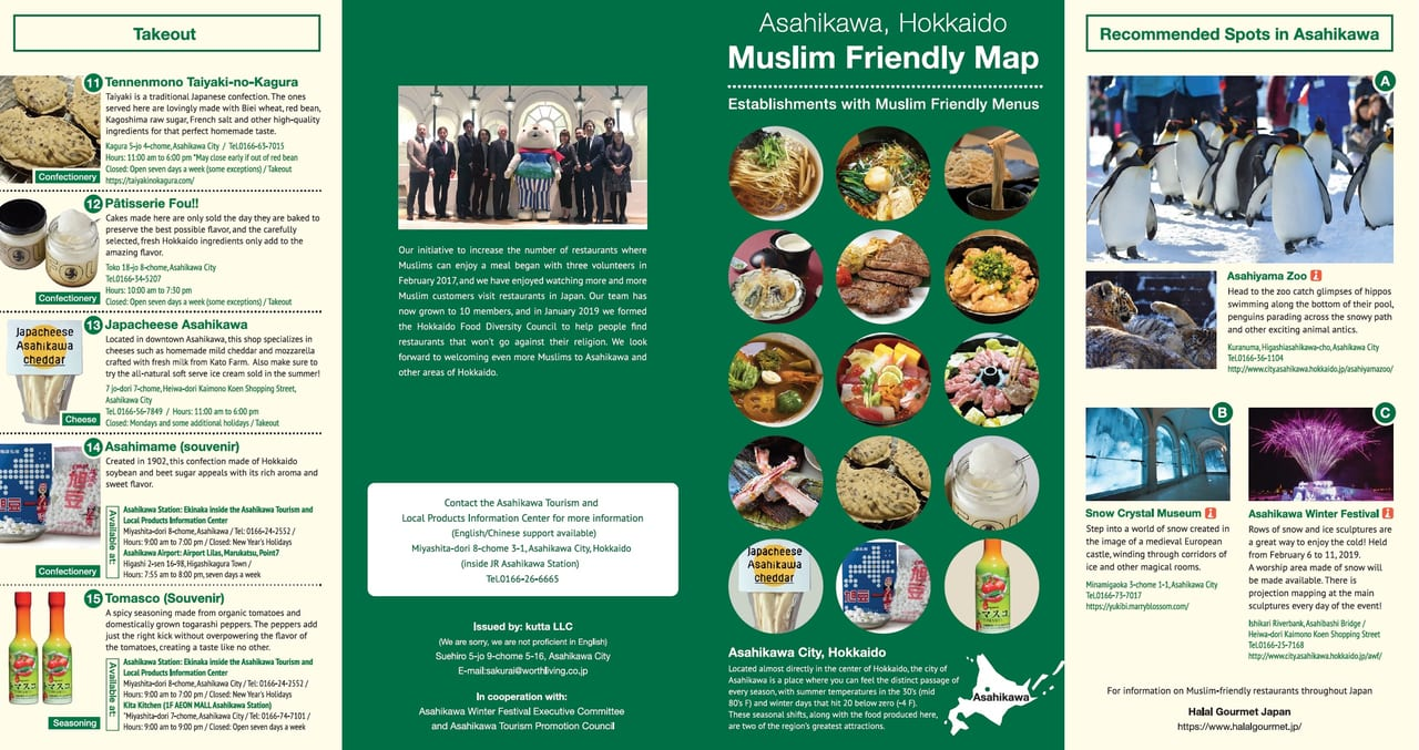 Sightseeing Guide | Food Diversity today