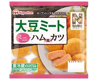 日本ハム ナチュミート 大豆ミートハム風カツタイプ